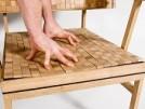 creative soft oak chair design